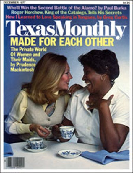 December 1977 issue cover