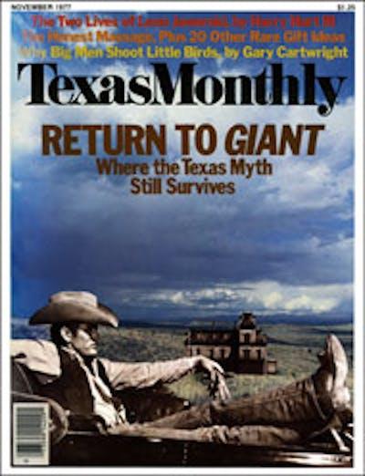 November 1977 Issue Cover