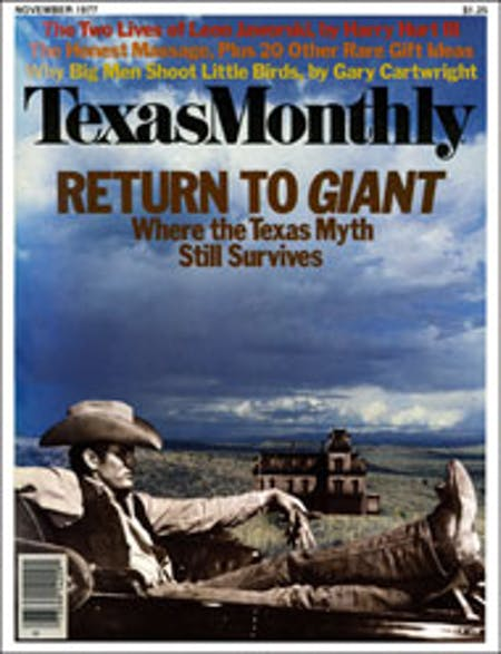 November 1977 issue cover