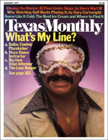 August 1977 issue cover