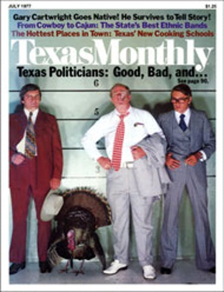 July 1977 issue cover