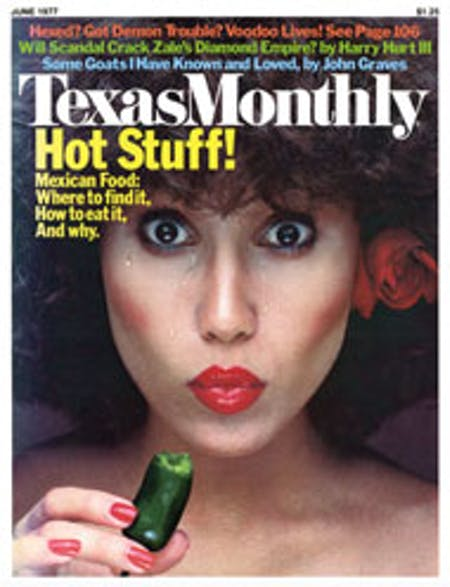 June 1977 issue cover
