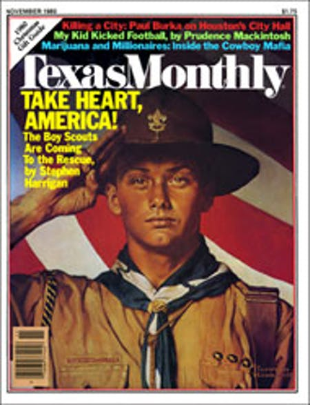 November 1980 issue cover