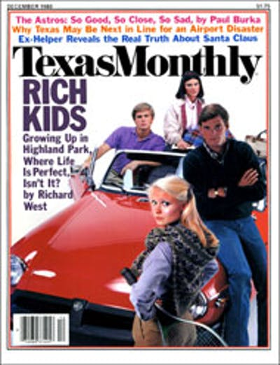 December 1980 Issue Cover