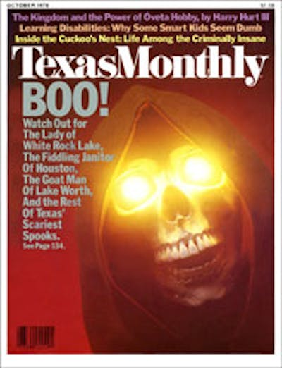 October 1978 Issue Cover