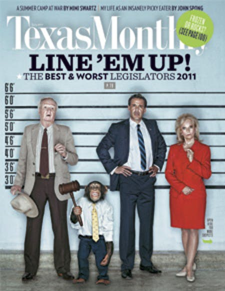 July 2011 issue cover