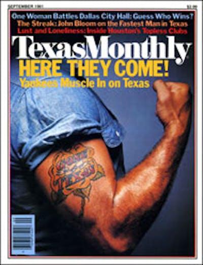 September 1981 Issue Cover