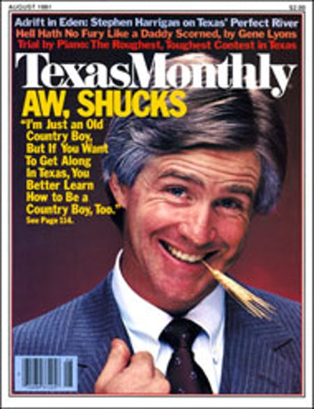 August 1981 issue cover