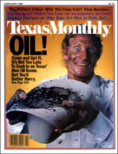 February 1981 Issue Cover