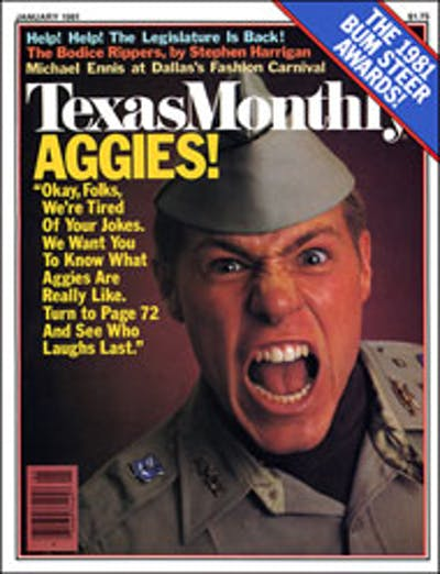 January 1981 Issue Cover