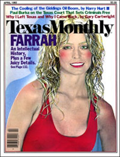 April 1982 Issue Cover