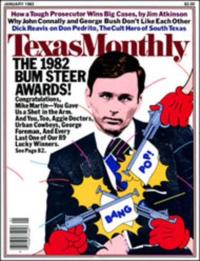 January 1982 Issue Cover