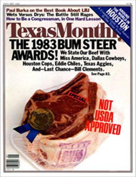 January 1983 issue cover