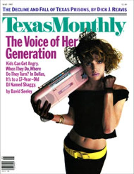May 1985 issue cover