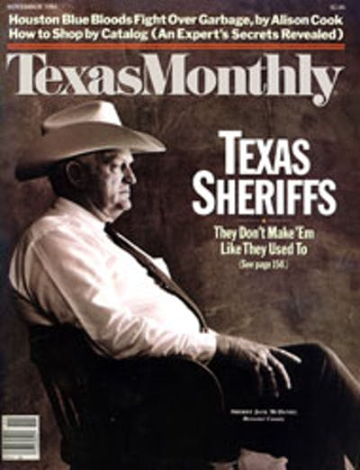 November 1984 Issue Cover
