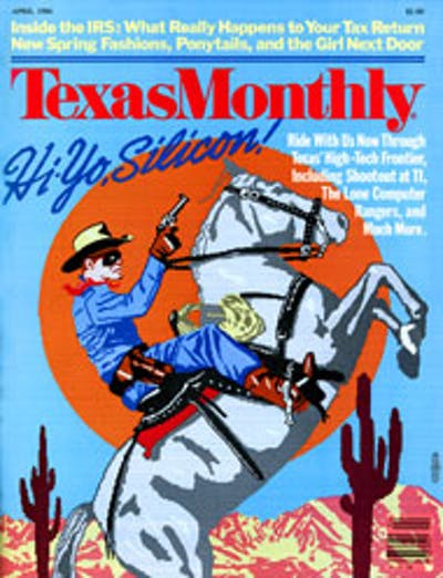 April 1984 Issue Cover