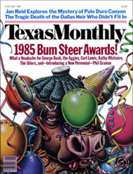 January 1985 issue cover