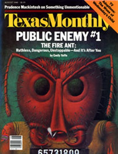 August 1988 Issue Cover