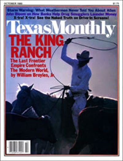 October 1980 Issue Cover