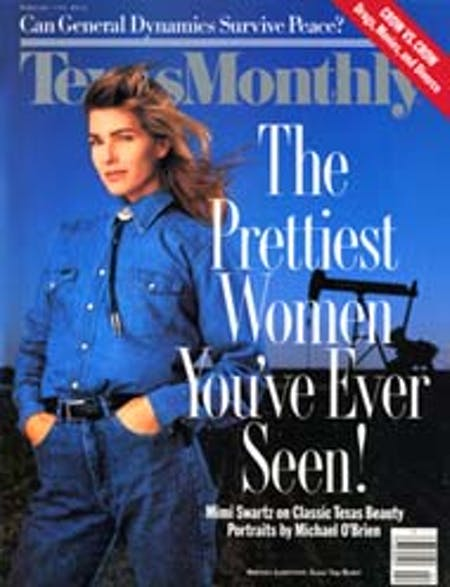 February 1990 issue cover