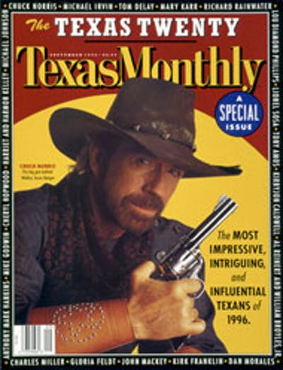 September 1996 Issue Cover