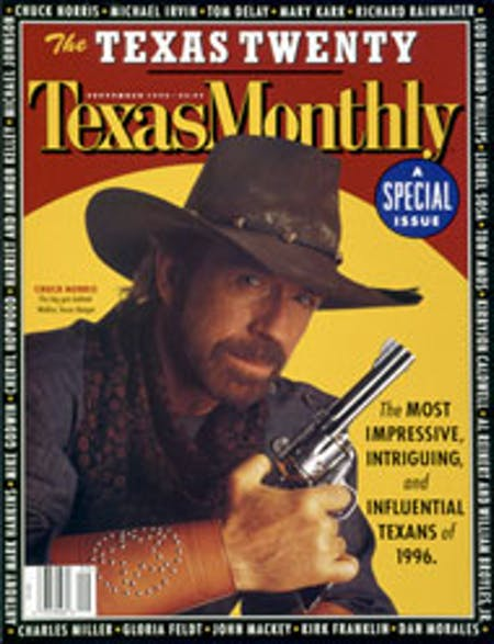 September 1996 issue cover