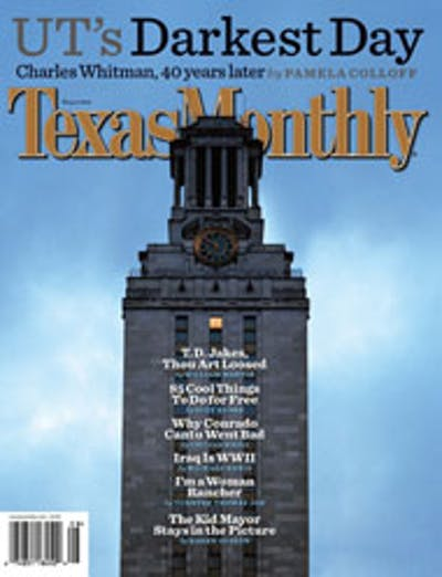 August 2006 Issue Cover