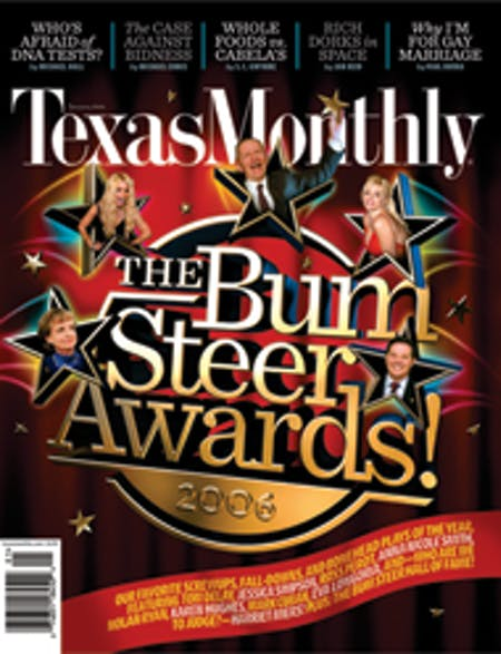 January 2006 issue cover