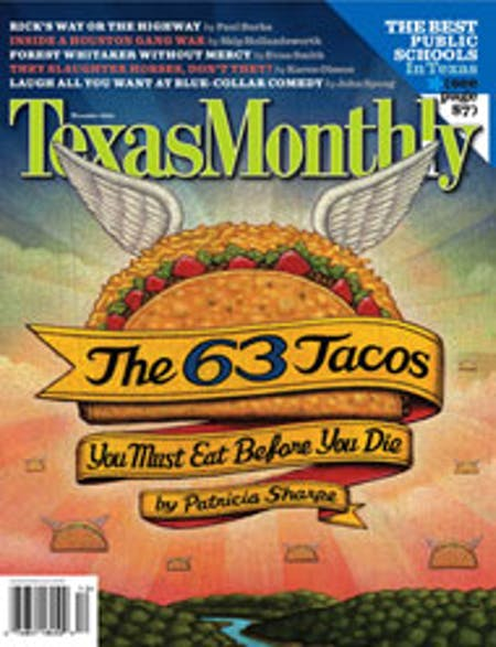 December 2006 issue cover