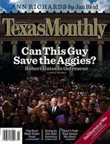 November 2006 issue cover