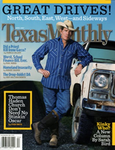 April 2005 Issue Cover