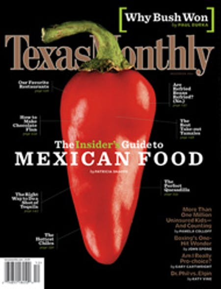 December 2004 issue cover