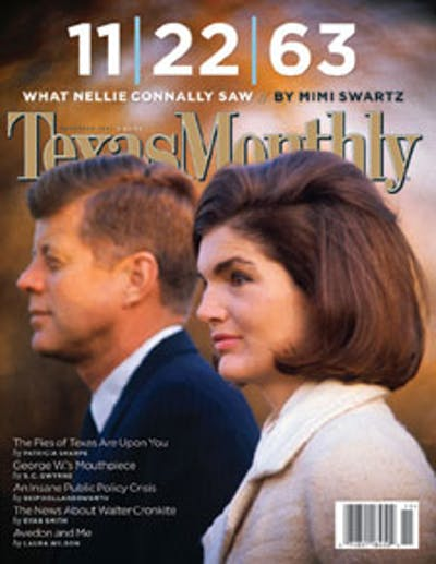 November 2003 Issue Cover