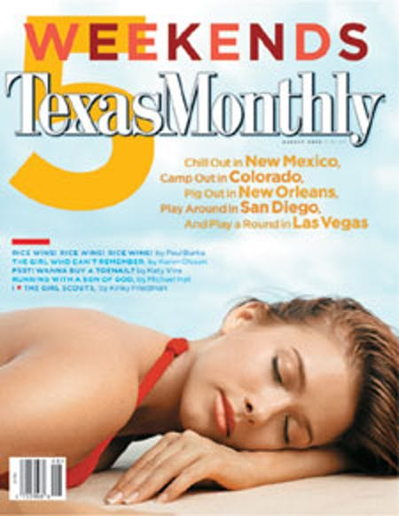 August 2003 issue cover