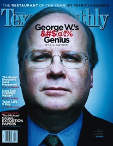 March 2003 issue cover