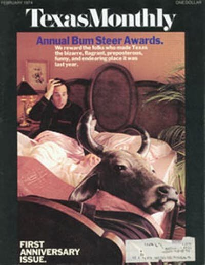 February 1974 Issue Cover