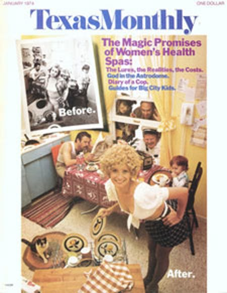 January 1974 issue cover