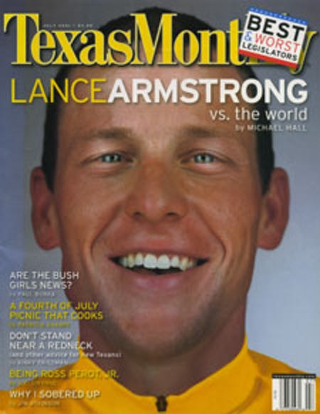 July 2001 issue cover