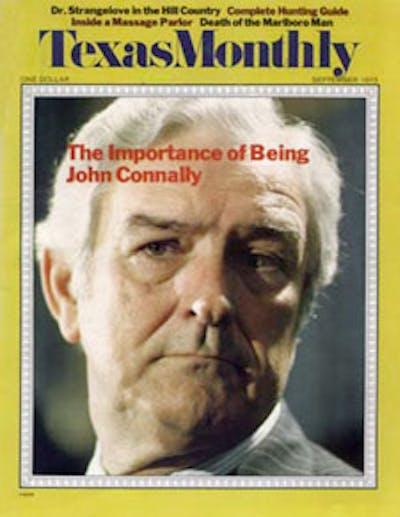 September 1973 Issue Cover