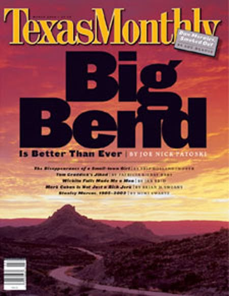 March 2002 issue cover