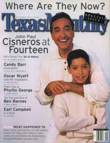 September 2001 issue cover