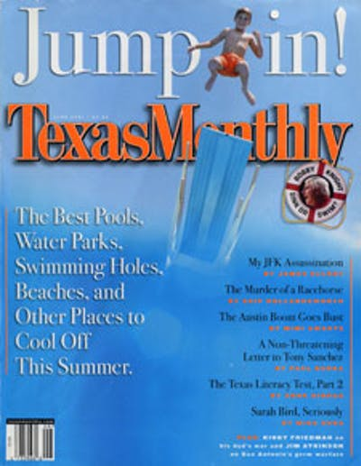 June 2001 Issue Cover