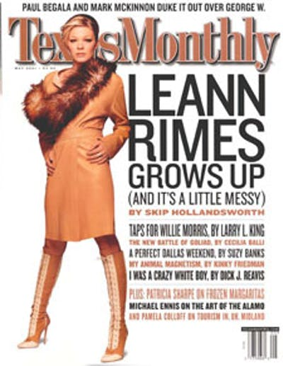 May 2001 Issue Cover