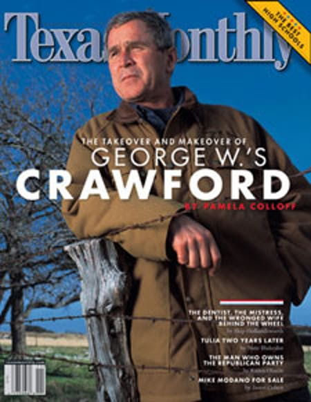 November 2002 issue cover