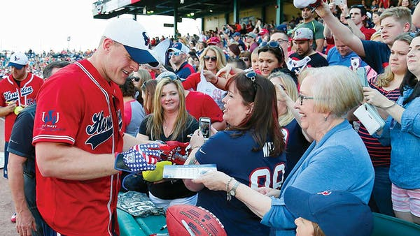J.J. Watt charity softball