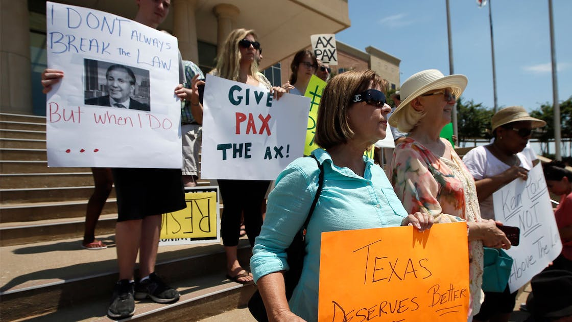 ken paxton indictment rally