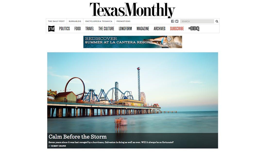 texasmonthly.com homepage