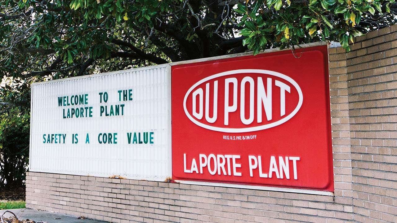 DuPont plant, La Porte.