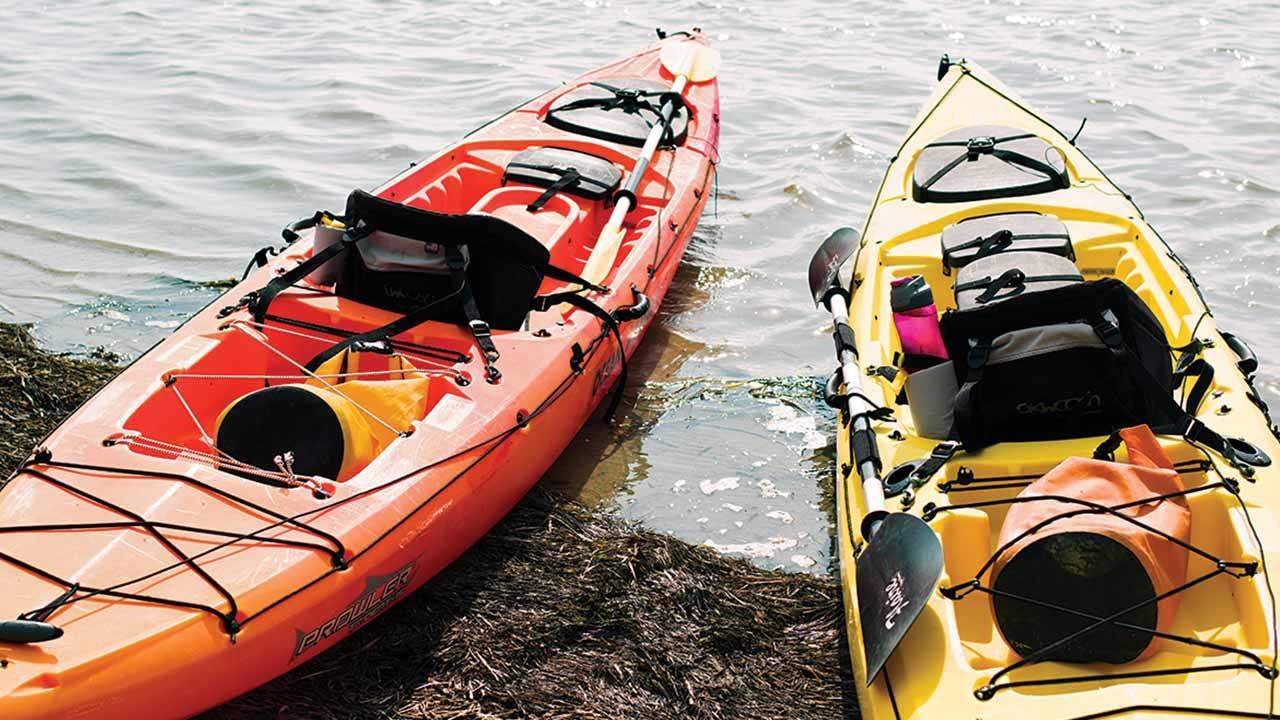 Kayaks, Laguna Madre.
