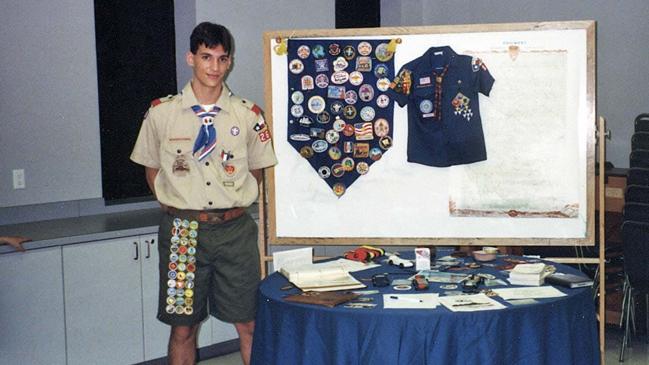 Austin Tice, Eagle Scout